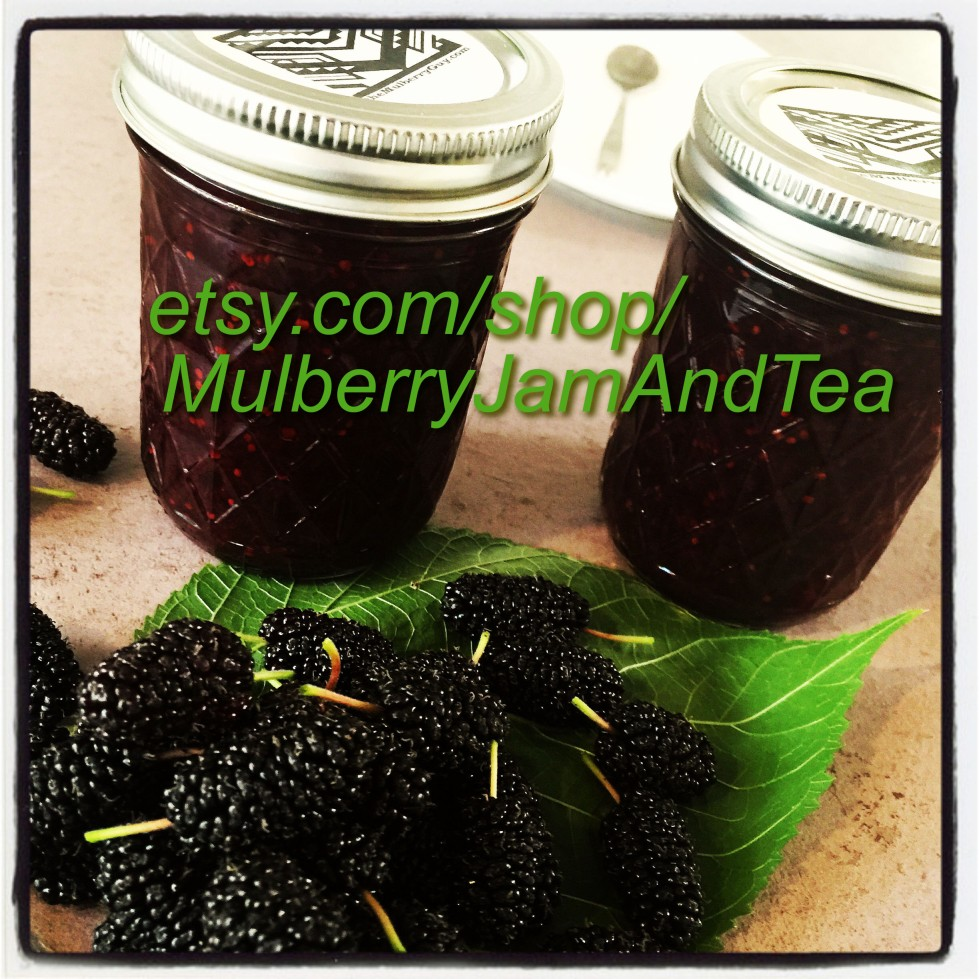 etsy.com/shop/MulberryJamAndTea for online sales all year long.